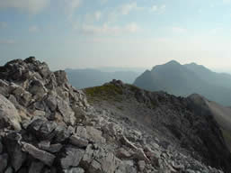 Beinn Eighe Ridge looking toward Liathach                   Copyright:  Tom Forrest