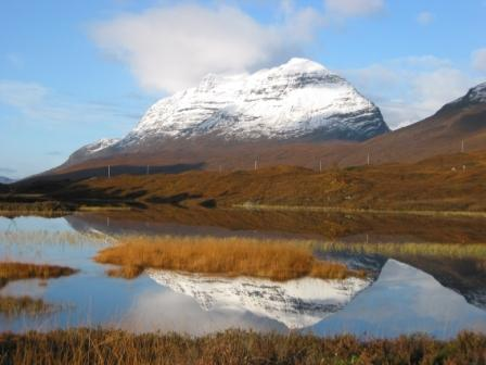 Liathach Reflection                 Copyright: Tom Forrest