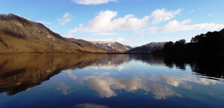 Loch Maree Reflections                        Copyright: Tom Forrest